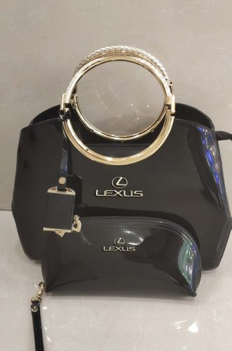LXUS Deluxe Women Handbag With Free Matching Wallet X photo review